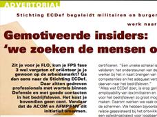 SmartPLUS Resources / ACOM, AFMP, MARVER en Stichting ECDef slaan de handen ineen